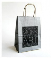 untitled (signed Jonathan Monk shopping bag)