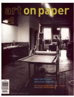 Art on Paper, September/October 2008