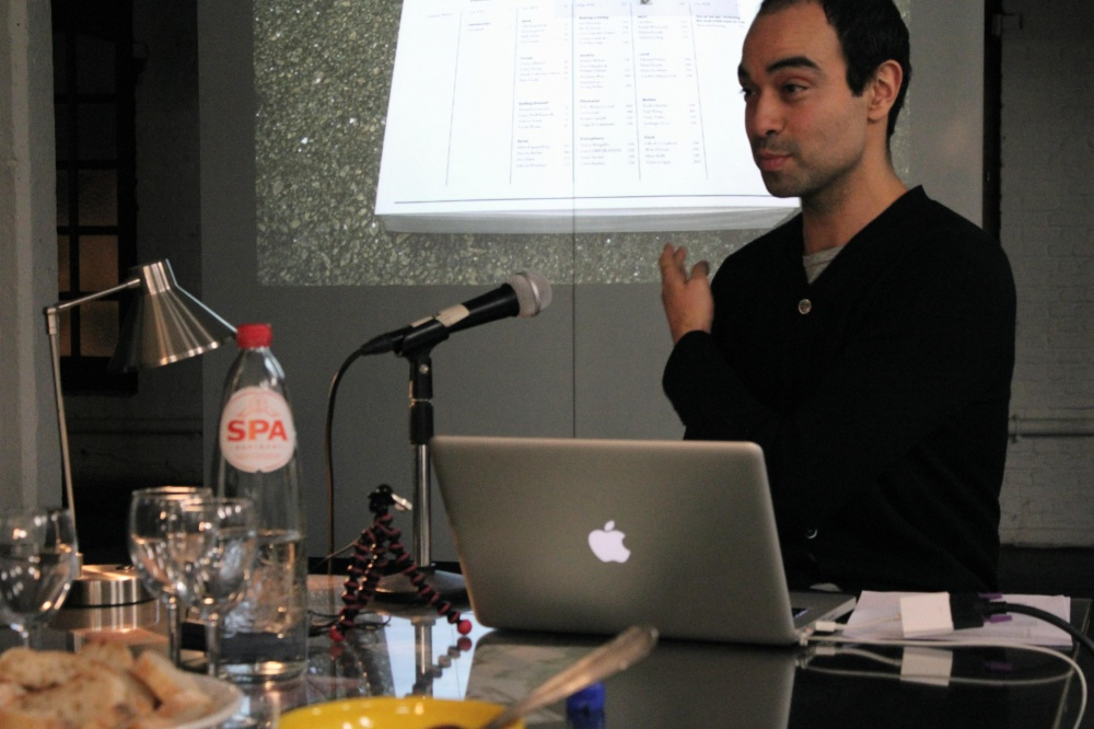 Commerce by Artists European Lecture Tour by Luis Jacob