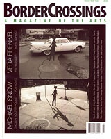 Shawn Kuruneru: Border Crossings Issue Number 102, Spring 2007