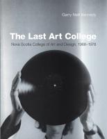 The Last Art College: Nova Scotia College of Art and Design, 196