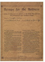 Michael Snow: Scraps for Soldiers
