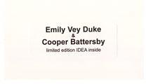 IDEA 2004: Emily Vey Duke & Cooper Battersby
