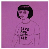 James Carl: Live and Let Lez T-Shirt