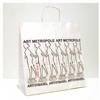 Signed Walking Woman Shopping Bag