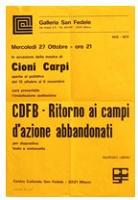 Cioni Carpi: CDFB-Ritorno ai campi d'azioneabbandonati