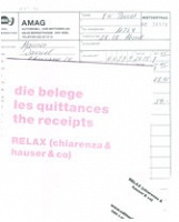 Relax (chiarenza & hauser & co): die belege / les quittances / the receipts