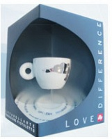 Michelango Pistoletto: Love Difference espresso cup