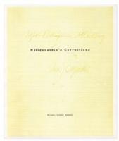 Michael Maranda: Wittgenstein'sCorrections
