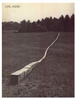Carl Andre: Sculpture 1959-1977