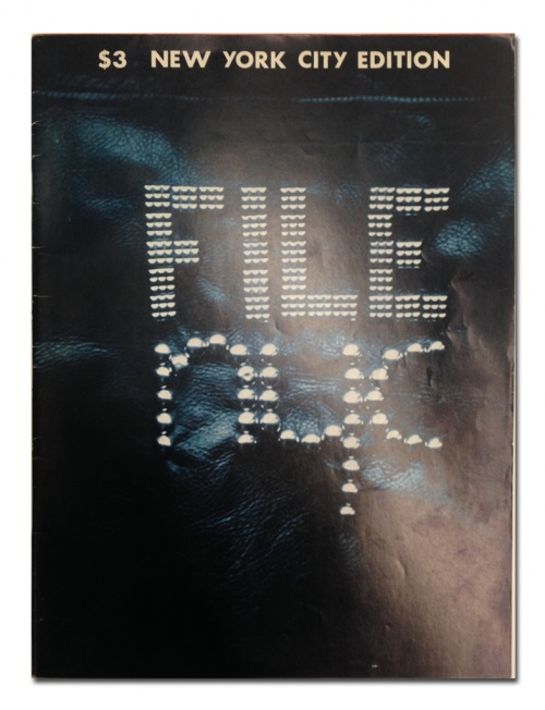"FILE Megazine (""New York City Edition,"" Vol. 3, #2, Spring1976)"