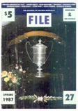 """FILE Megazine (""""The Journal of the New Mortality,"""" #27, Spring 1"""