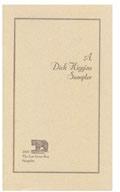 A Dick Higgins Sampler