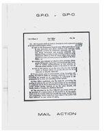 G.P.O. v G.P-O: Mail Action Bootleg no.2 - Genesis P-Orridge