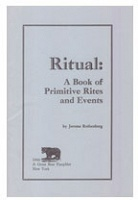 Great Bear Pamphlet: Ritual = Jerome Rothenberg