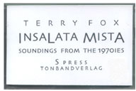 Insalata Mista: Soundings from the 1970's