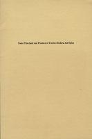 Some Principals and Practice of Twelve Modern ArtStyles