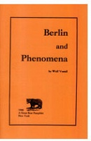 Wolf Vostell: Great Bear Pamphlet - Berlin and Phenomena