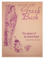 Rob Clarke: Messin' with Greek Buck