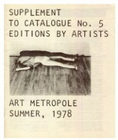 Supplement to AM Catalogue no.5: 1978