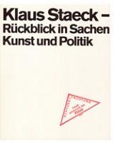 Klaus Staeck: Ruck Blick inSachen