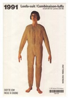 Barbara Balfour: Loofa Suit Serving Pattern: 1992