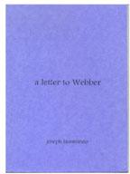 A Letter to Webber