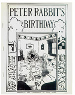 Weberman and Zimmerman: Peter Rabbit`s Birthday