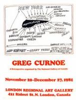 Greg Curnoe: Retrospective ShowPoster