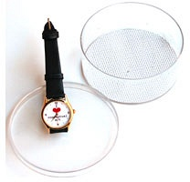 Michael Buckland: I Heart Conceptual Art (wristwatch)