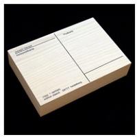 Joseph Beuys:Holzpostkarte