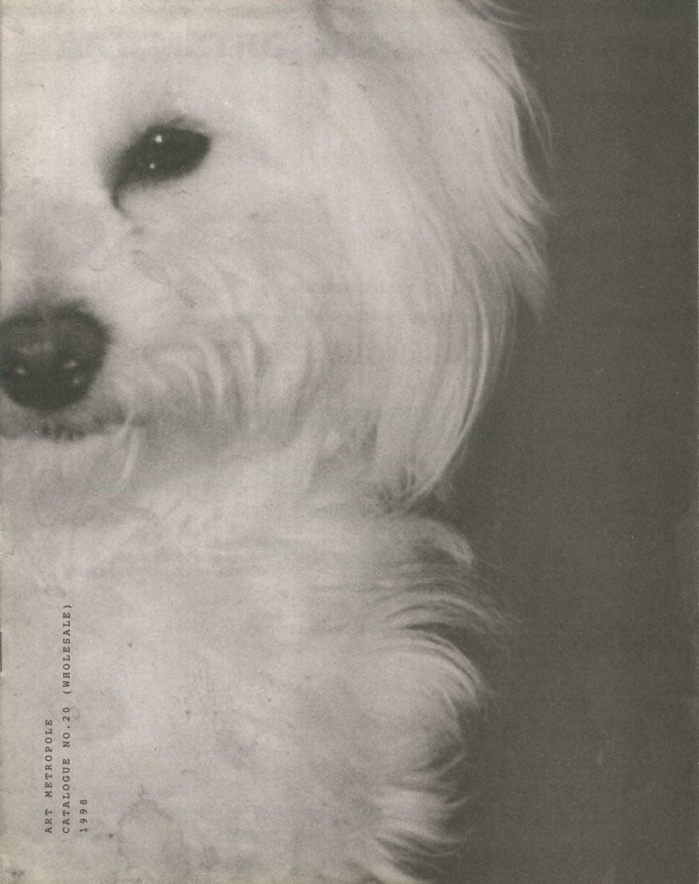 Art Metropole. Catalogue No. 20 (Wholesale) 1998 (front)