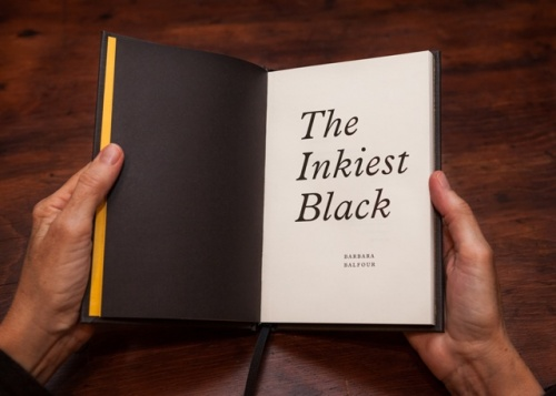 The Inkiest Black