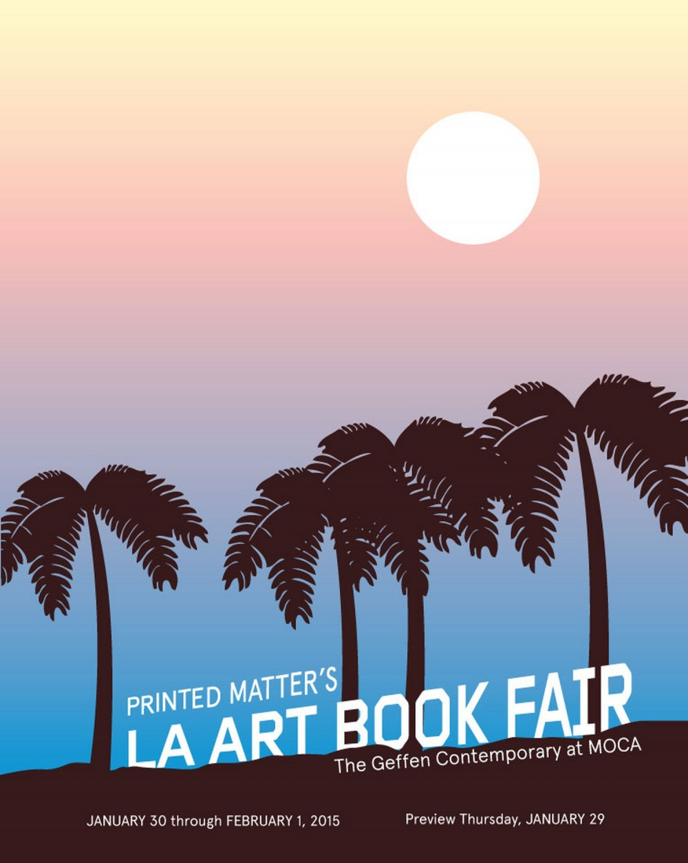 LA Art Book Fair Poster