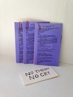 No Theory No Cry Porcelain Cards