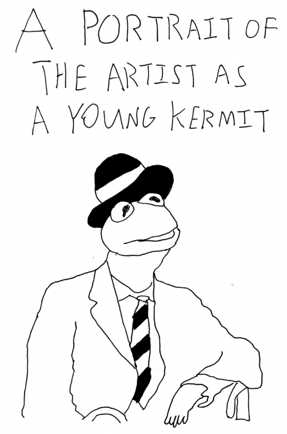 Portrait Of The Artist As A Young Kermit