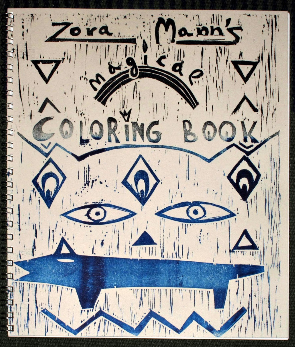 Zora Mann's Magical Coloring Book