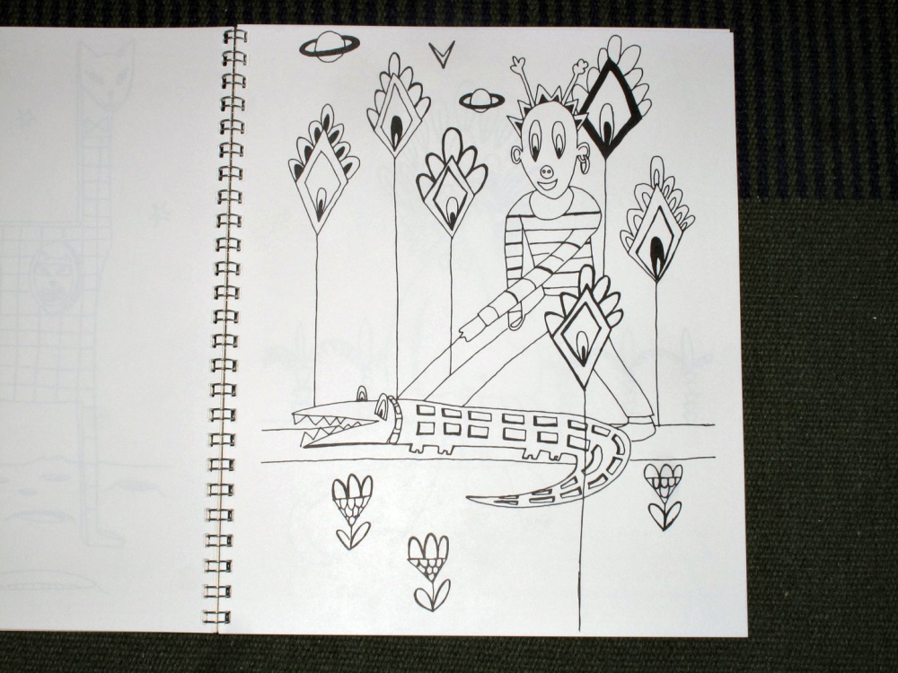 Art Metropole / Zora Mann's Magical Coloring Book