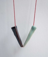 Leah James: Ceramic Necklace