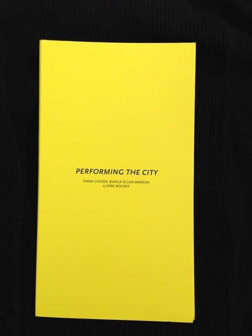 Performing the City