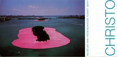 "Christo ""Surrounded Islands"" Invitation"