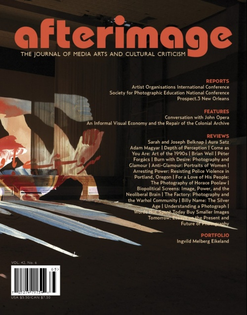 Afterimage Vol. 42 No. 6