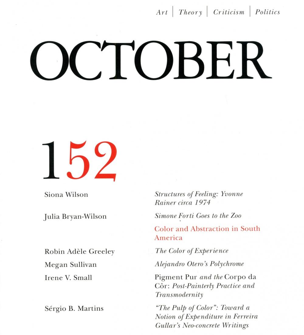 october magazine issue 152