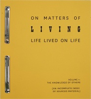 Suzanna Zak: On Matters of Living Life Lived on Life