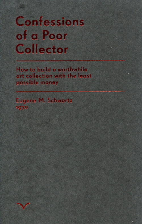 confessions of a poor collector