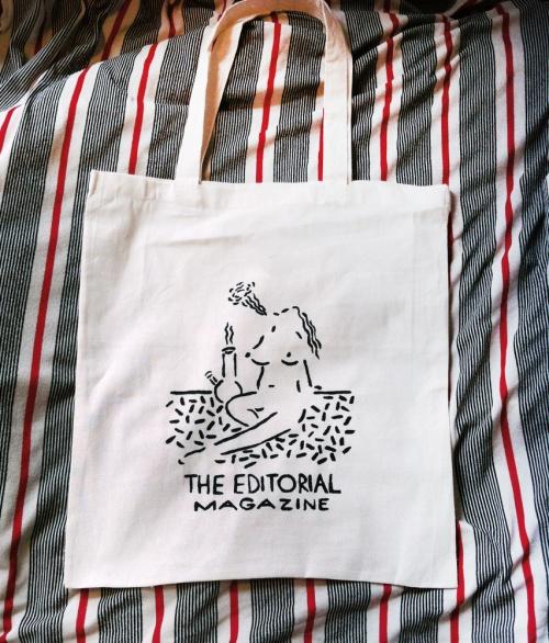 Editorial Magazine Tote Bag
