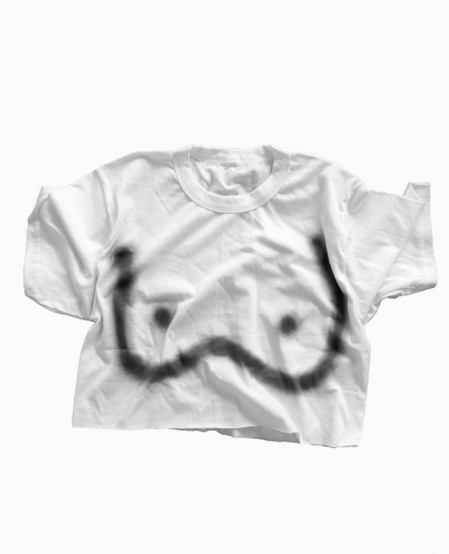 iconic breast t shirt