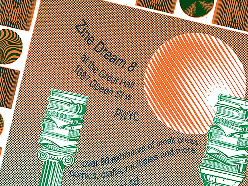 Zine Dream 8 Poster Detail
