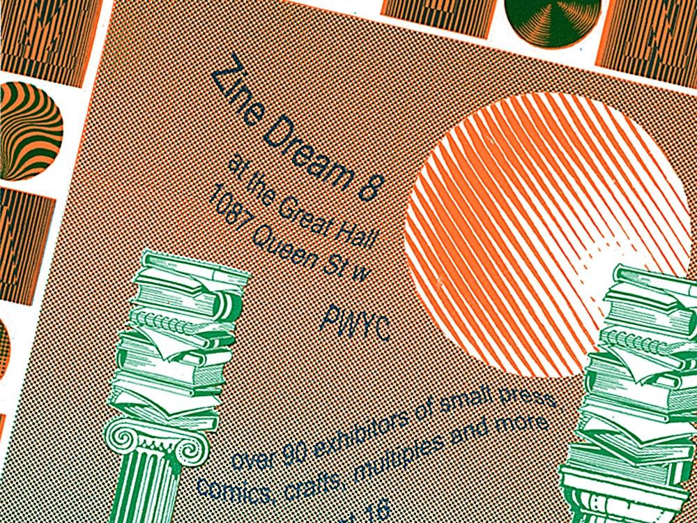 Zine Dream 8 Poster Detail