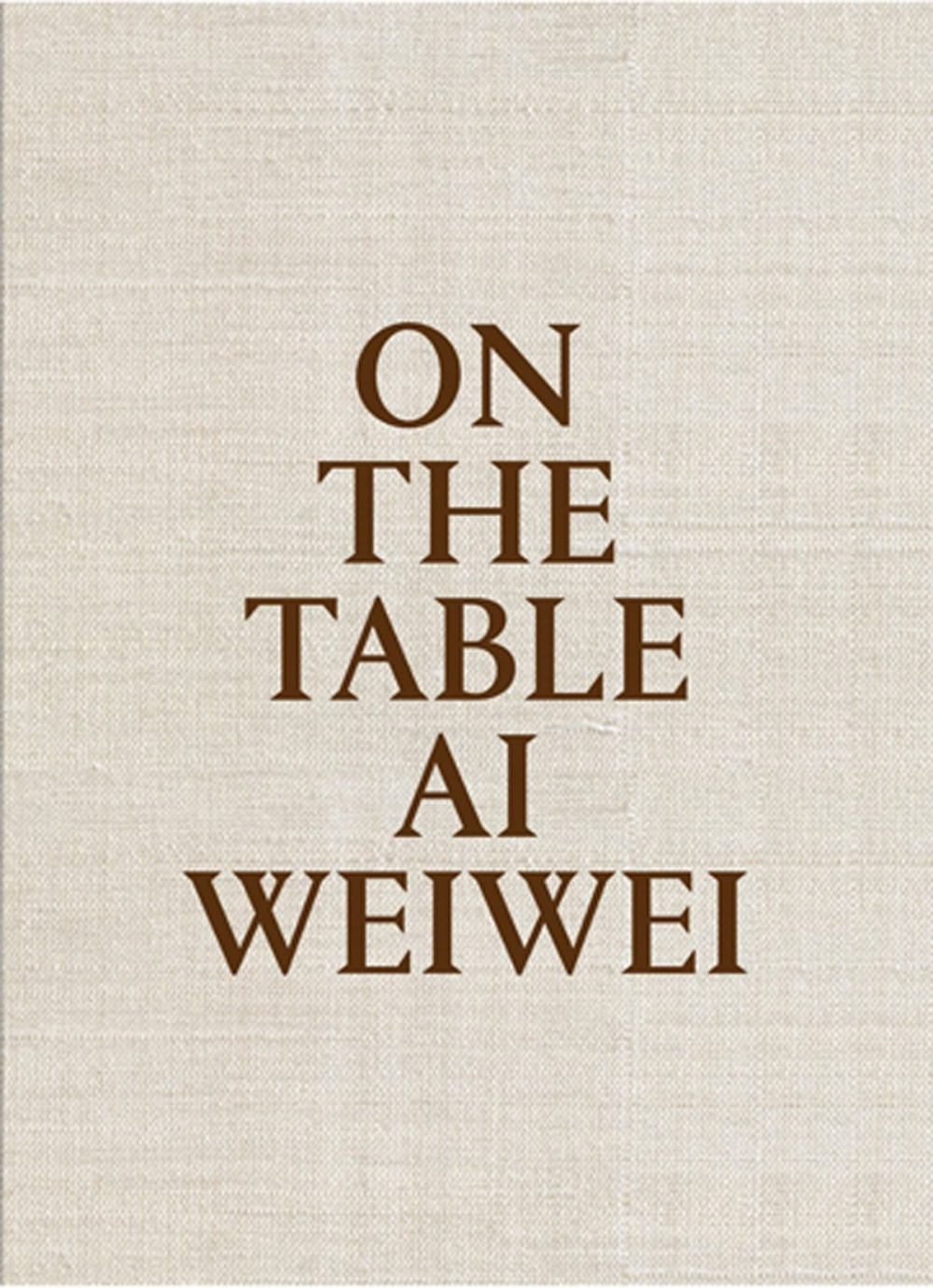 Ai Weiwei: On The Table